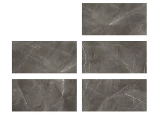 "China 24 "" X 48 "" Dark Grey Glazed Wall Tiles Easy Maintenance And Color Control factory"