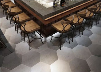 China Low Carbon Hexagon Ceramic Tiles Matt Solid Surface With Low Wastage factory
