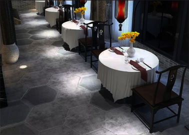 China Big Size Decorative Hexagon Ceramic Tiles Classic Simple Style 520*600mm factory