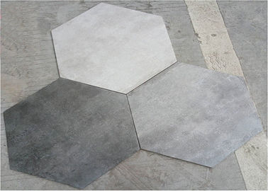 China 520*600MM Hexagon Bathroom Wall Tiles Mix Color Anti - Fouling And Easy Cleaning factory