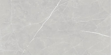 Interior Glazed Porcelain Floor Tile Grey Gloss Modern Style For Living Room