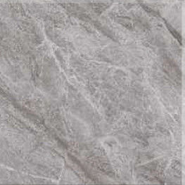 Grey Flower Pattern Rectangular Ceramic Floor Tile Imitation Marble Texture