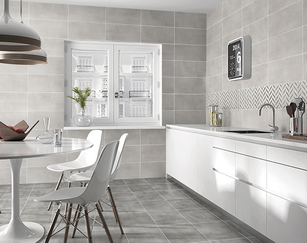 Non - Slip Square Ceramic Tile , Ceramic Bathroom Floor ...